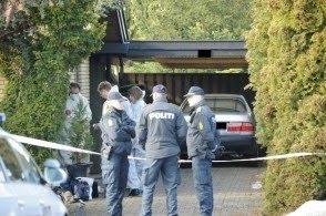 Politiet på arbejde