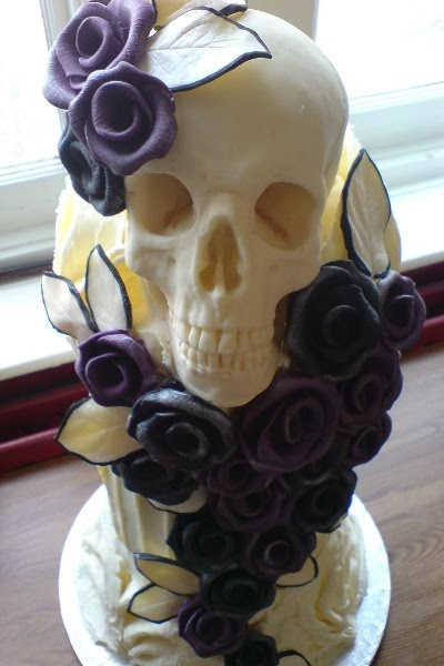 Goth bryllupskage
