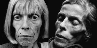 Barbara Gröne før og efter døden