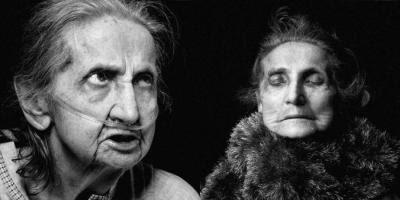 Elly Genthe før og efter døden