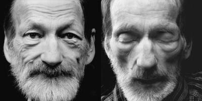 Wolfgang Kotzahn før og efter døden