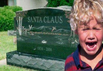 Santa Claus, Julemandens gravsten