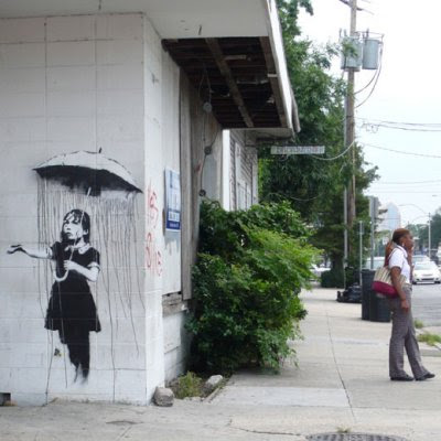 RainGirlzzz1 by Banksy