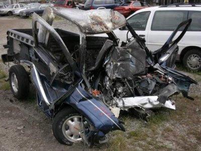 Selvmord med lastbil