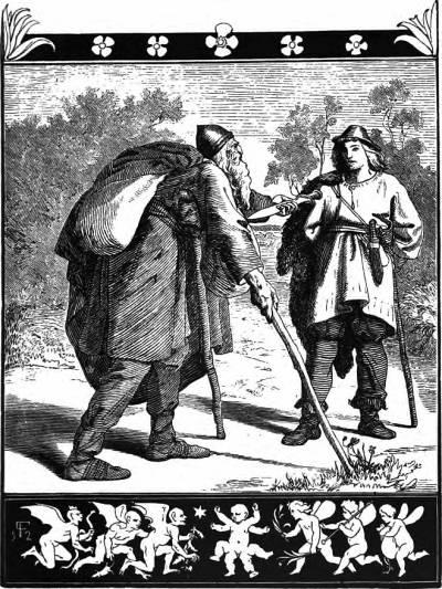 Stærkodder Søger Døden (1907) af Lorenz Frølich