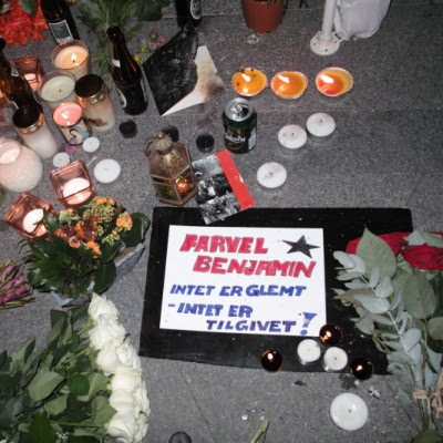 Farvel Benjamin - Intet er glemt - Intet er tilgivet!