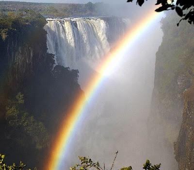 Victoria Falls, et smukt badested