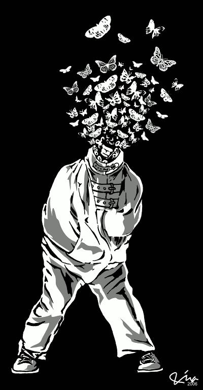 Butterfly asylum