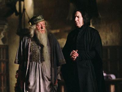 Dumbledore og Snape