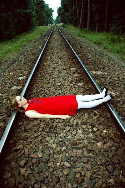 Venter på toget