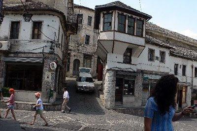 Et billede fra Albanian