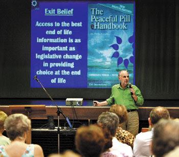 Philip Nitschke euthanasia workshop