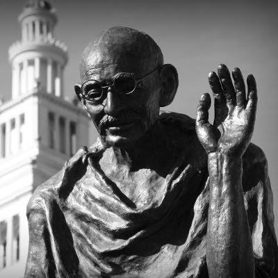 Mahatma Gandhi statue i San Francisco