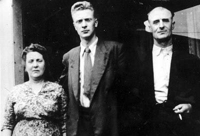 Michael Caine med sine arbejder-forældre