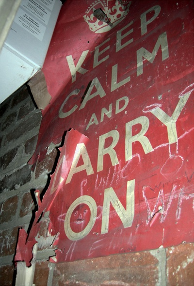 Keep Calm and Carry On - original poster
