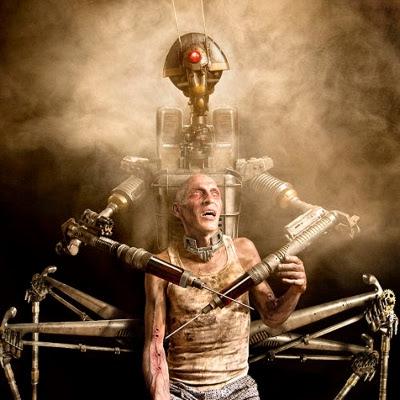 Robot by Joshua Hoffine
