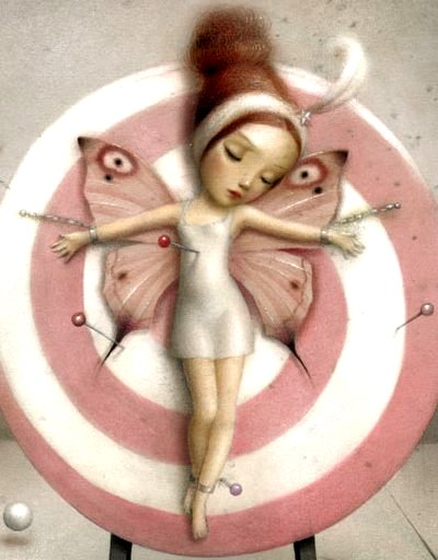 Pin-up - The Magician's Assistant by Nicoletta Ceccoli