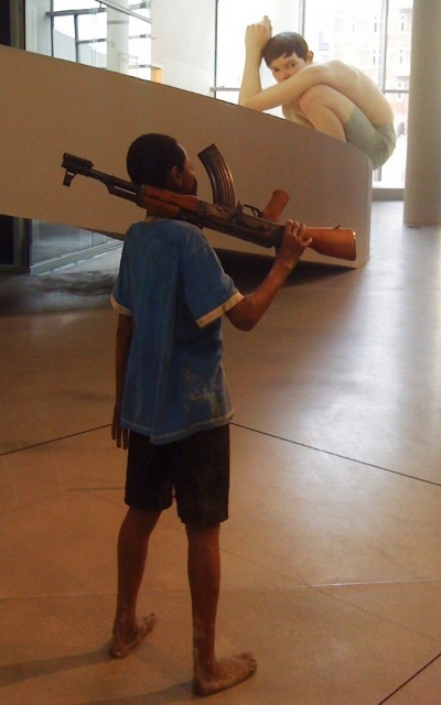 Christian Lemmerz: Child Soldier and Ron Mueck: Boy