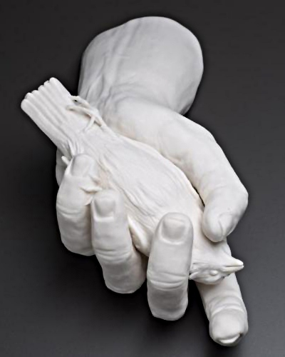 In the hand by Kate MacDowell