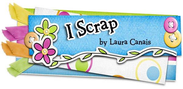 I Scrap .:. Eu scrap Laura Canais