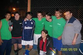 Con Trinidad y Carlos Gonzales de Los palmeras en un encuentro deportivo!!!