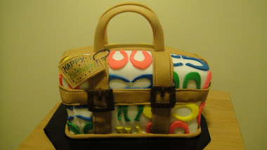 Coach Purse Bday Cake