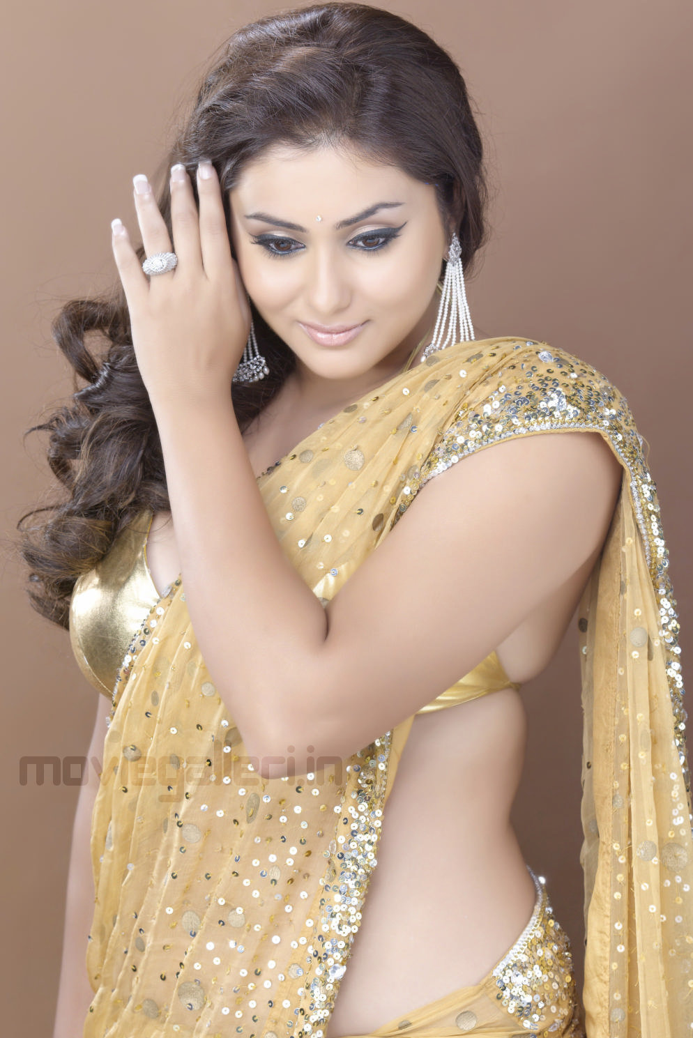 namitha hot saree photo shoot pics namitha photo shoot wallpapers