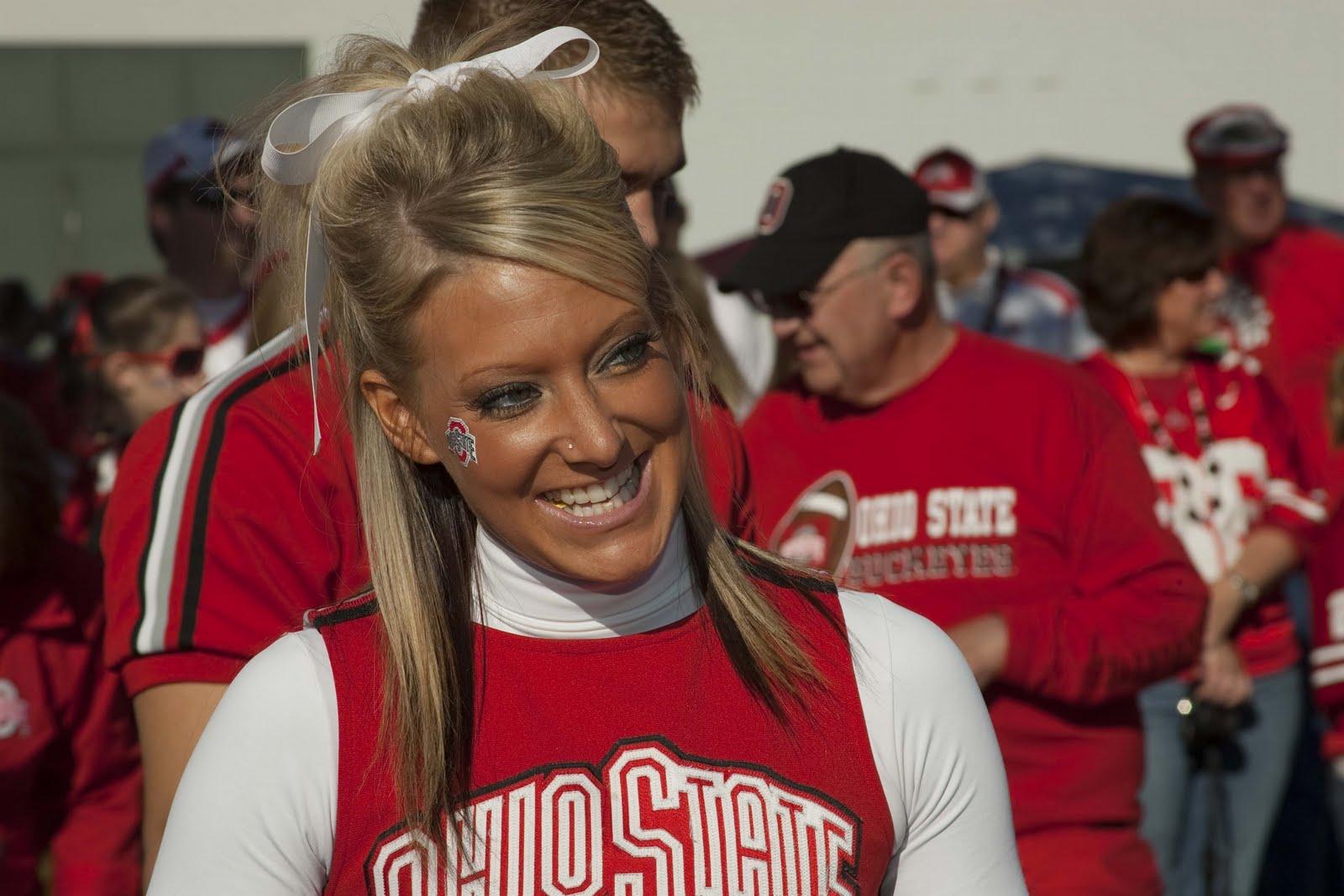 Ohio State University Cheerleaders Hot