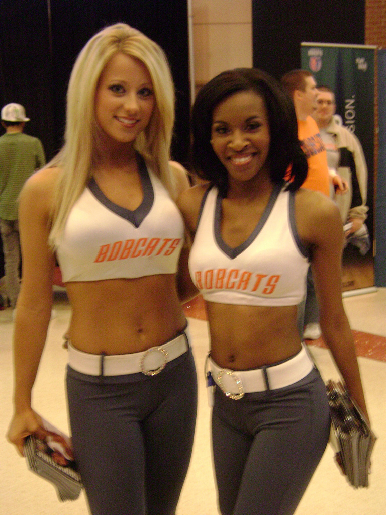 Cheerleaders And Sport Girls The Charlotte Bobcats