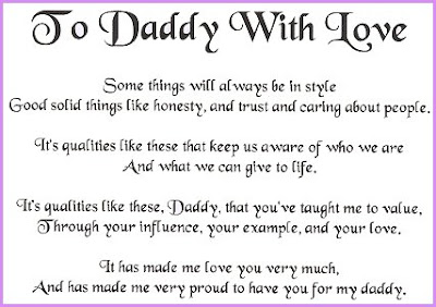 happy birthday daddy poems from kids