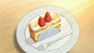 ¡Tanjoubi Omedetou Naomi Love Chan! Anime+cake
