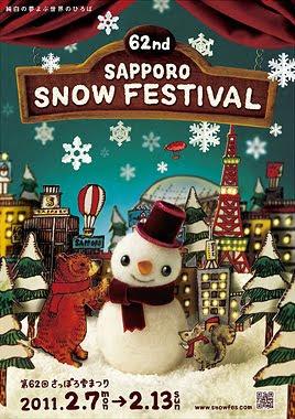 Sapporo Snow Festival 2011 2011poster