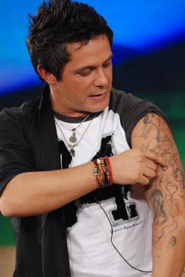 Todos Los Tatuajes De Alejandro Sanz pongamos que hablo de alejandro sanz: octubre 2009
