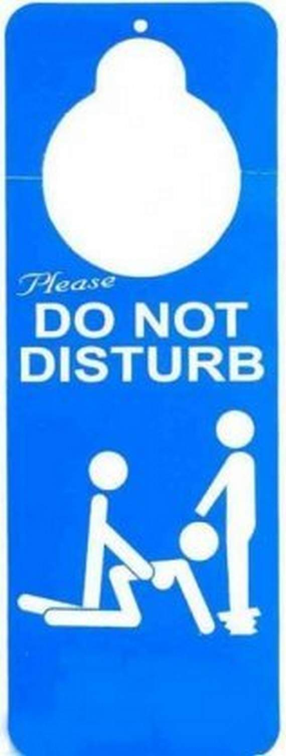 Funny Do Not Disturb Cards Likepage