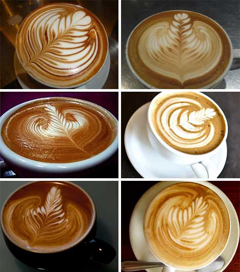 Latte Art Designs : Designer baristas incredible works of coffee latte