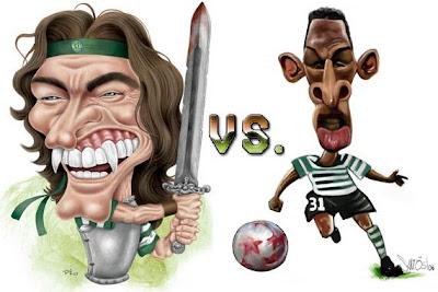 Sá Pinto vs. Liedson... FIGHT!!