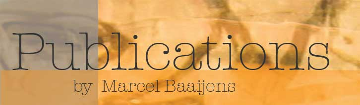 Marcel Baaijens-Publications
