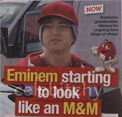 mm Eminem Weight An Issue?