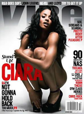 c1 Ciara's Full Vibe Magazine Naked Spread