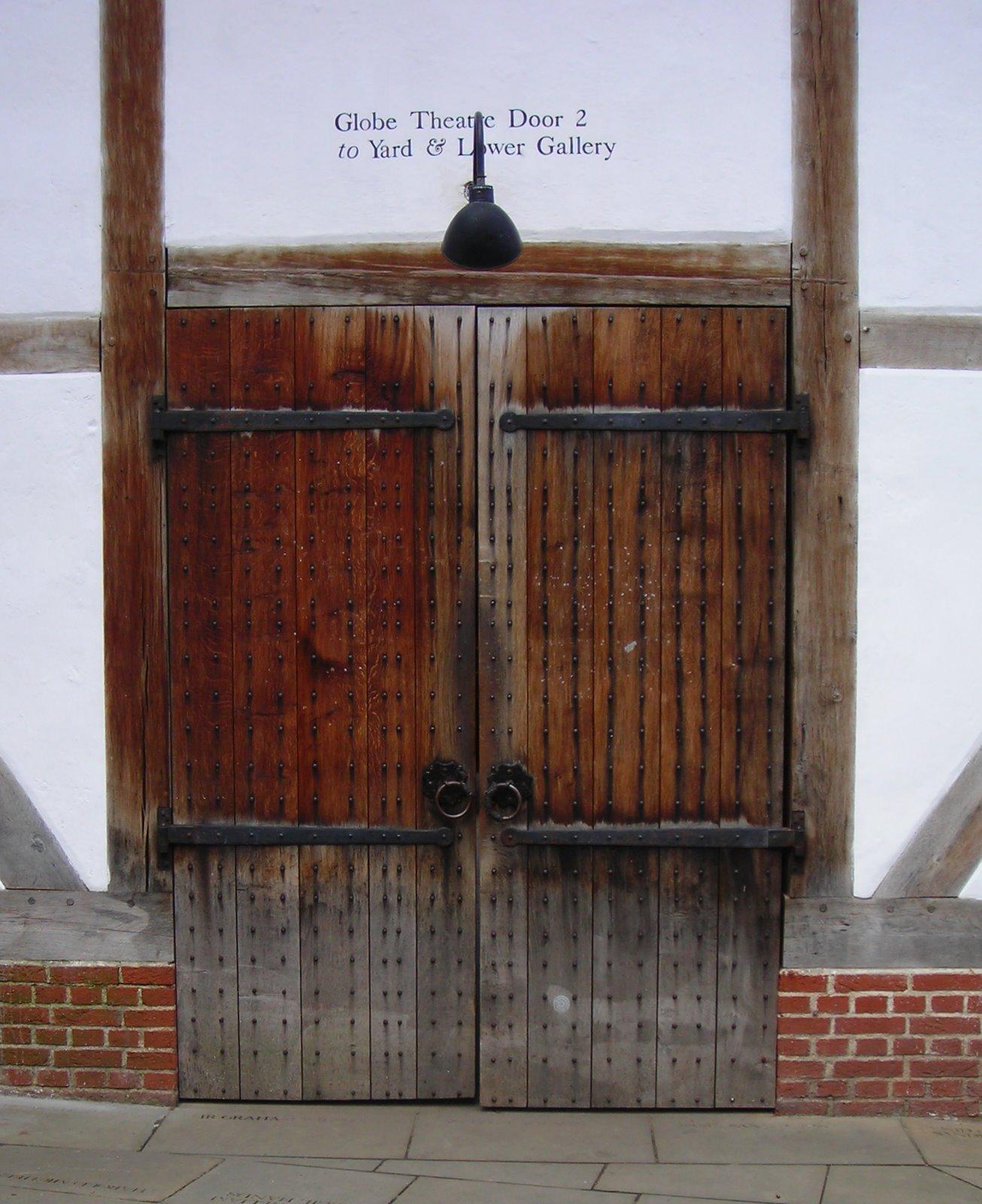 East Tower door & Globe Theatre South Bank | Doors