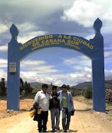 Arco de Bienvenida de Cabana Sur