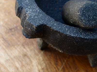 Mexican Mortar Pestle in Shape of a Pig