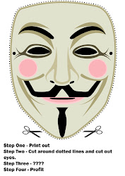 Crea tu máscara fawkiana