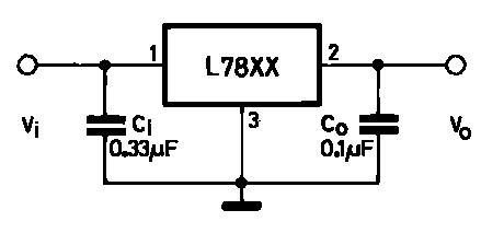 power supply  lm78xx voltage regulators