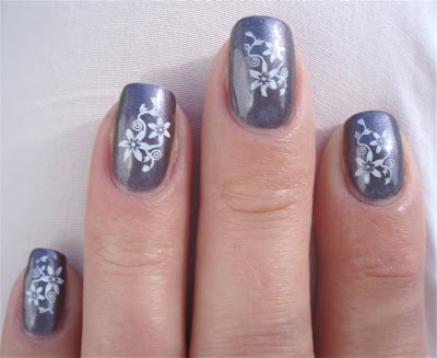 Manicure Nail Art Flower