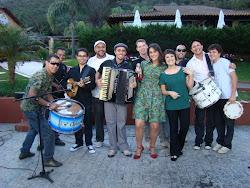 Trio Lampião na gravação do Programa Globo Horizontes