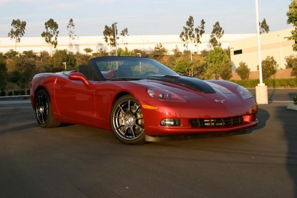 2010 Callaway Chevrolet corvette engine