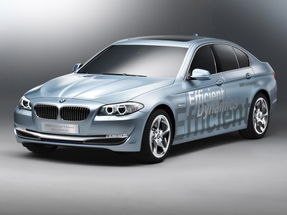 2010 Bmw 7 Activehybrid. Geneva 2010: BMW 5 Series