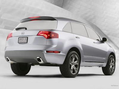 New Acura MDX photos