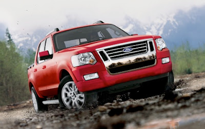 The unibody 2011 Ford Explorer